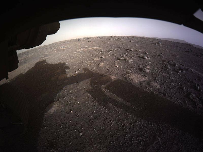 снимки сделанные марсоходом Персеверанс