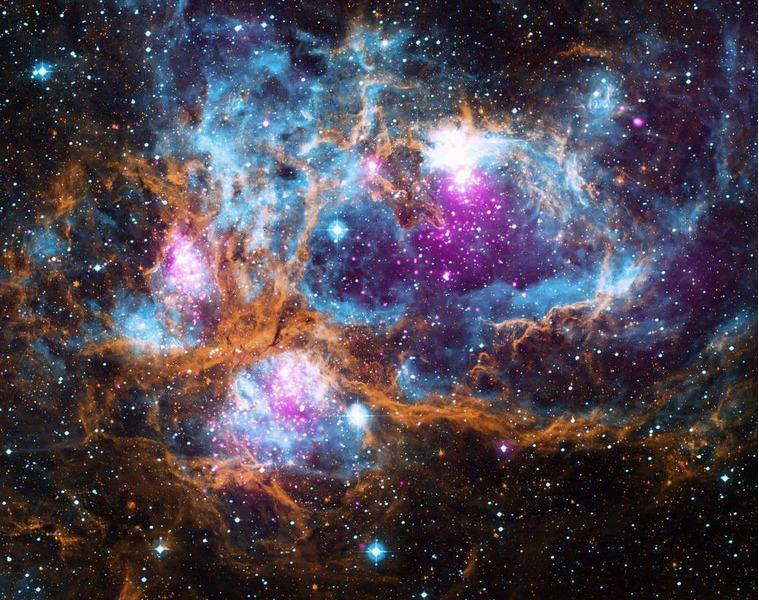 Эмиссионная туманность NGC 6357