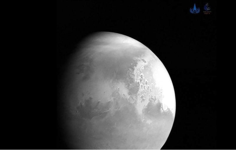 Первый снимок марса зонд Тяньвэнь-1