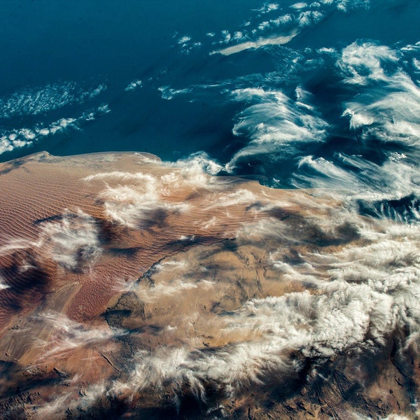 Вид на Африку с МКС