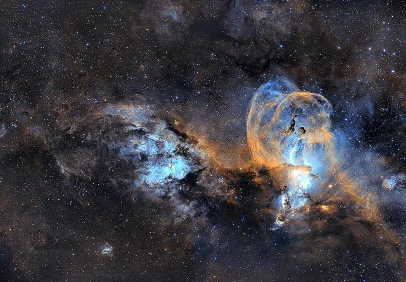 Туманность NGC 3576
