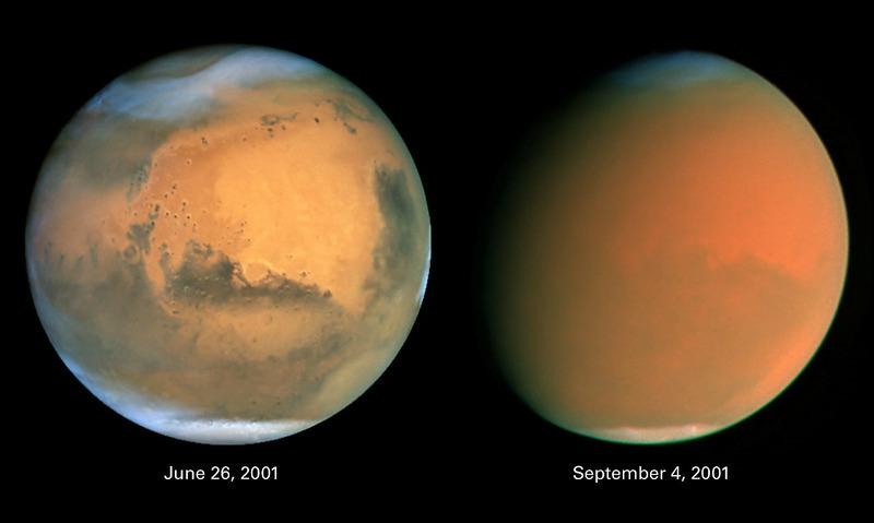 Марсианская пыльная буря