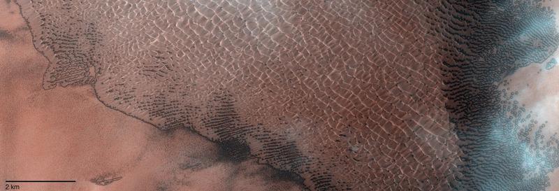 Марсианский кратер Ломоносов