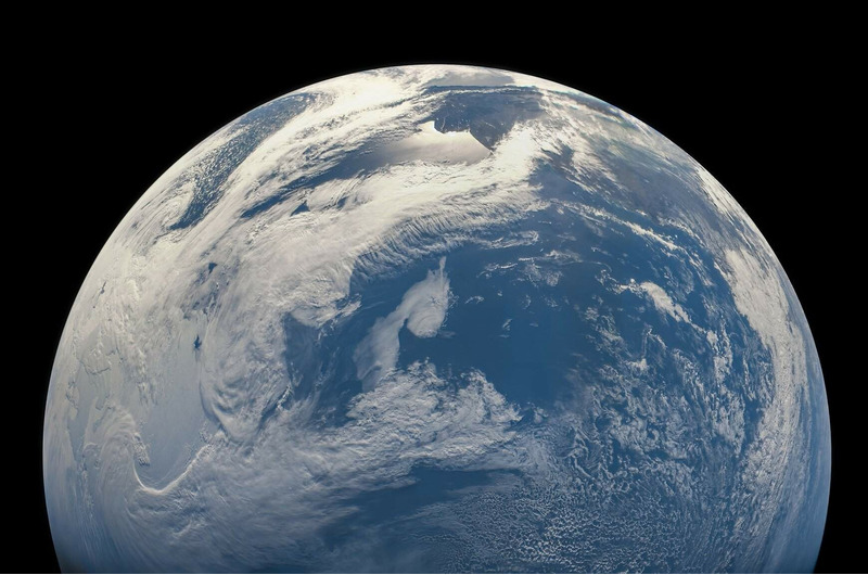 Снимки Земли сделанные аппаратом Юнона