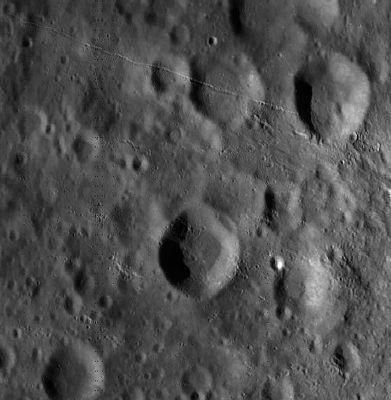 Лунный кратер Марци