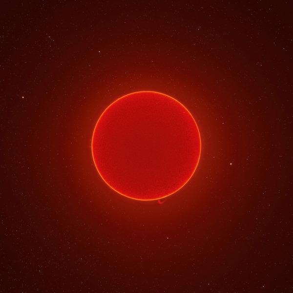 Фотография солнца