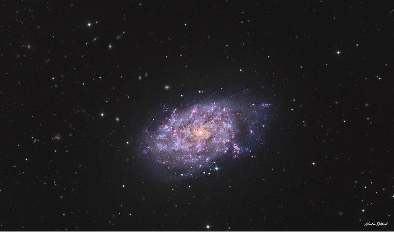 Галактика NGC 7793