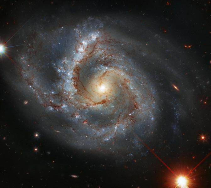 Спиральная галактика NGC 7678