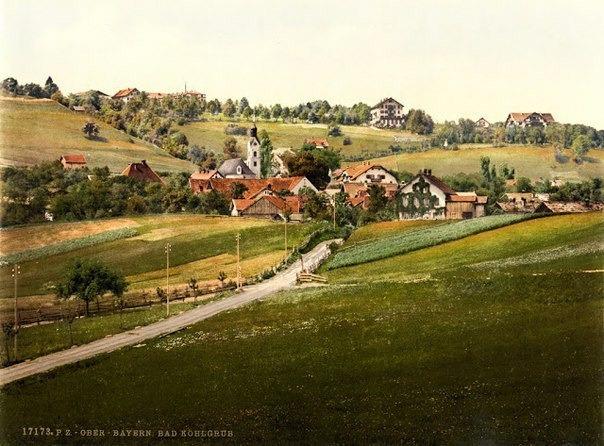 Бавария в конце XIX века