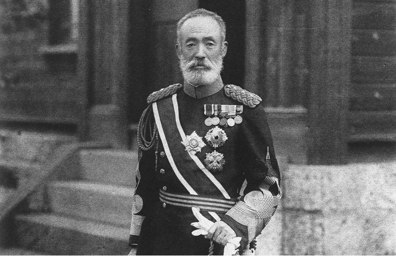Японский генерал Ноги Марэсукэ