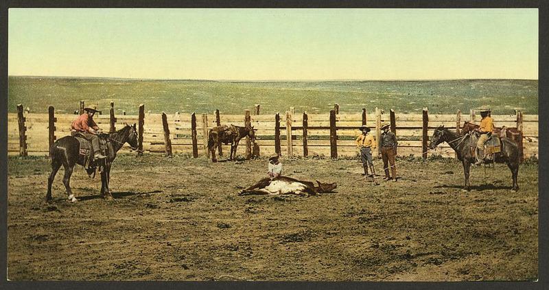 Цветные фотографии Дикого Запада