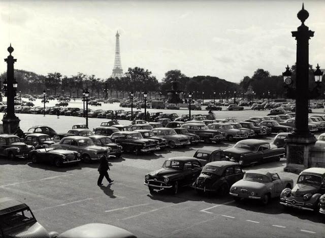 Париж 50-х годов