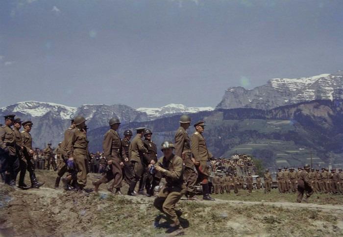 Встреча советских и американских войск в Австрии