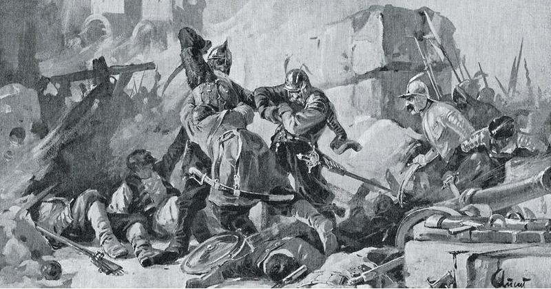 Оборона крепости Белой