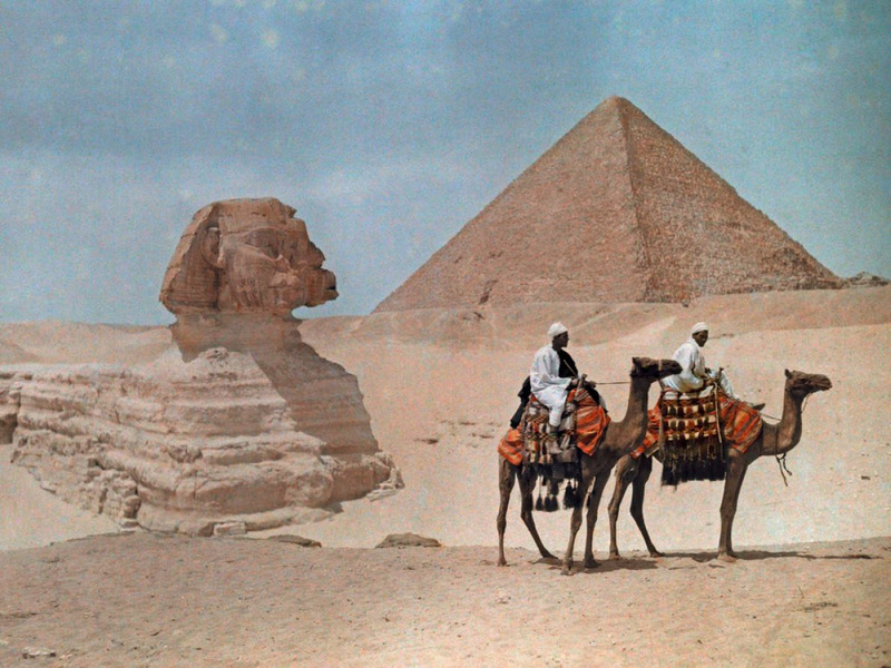цветные фото Египта