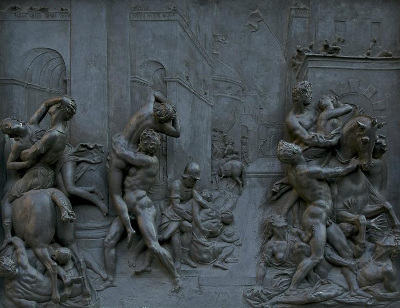 фрагмент пьедестала статуи работы Джамболоньи во Флоренции