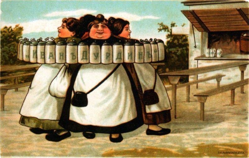 Реклама пива времен Российской империи