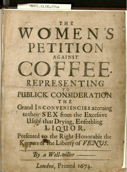 Женщины против кофе