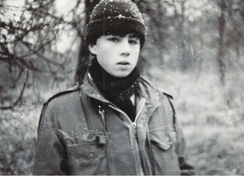 Сергей Бодров младший в молодости