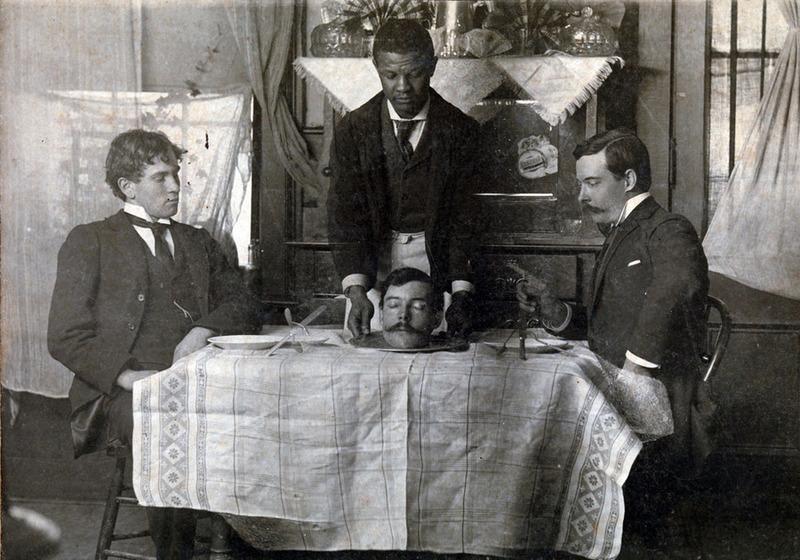 Голова на блюде, Уильям Роберт Боулз, 1900
