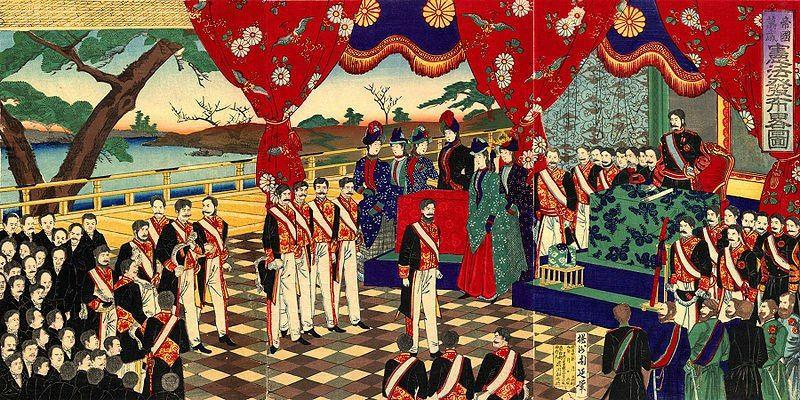 Революция Мэйдзи в Японии