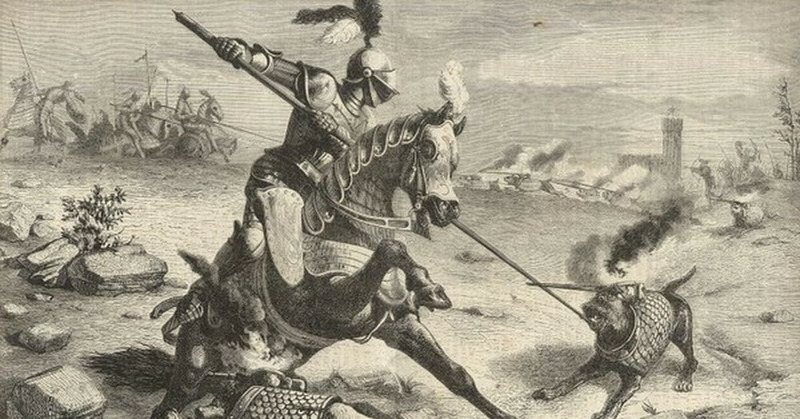 Боевые собаки древности