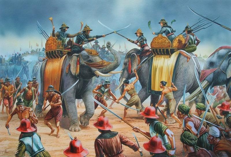 Армия древней Индии