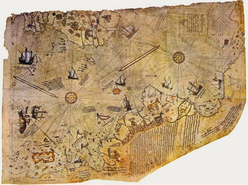 Карта Пири-Рейса