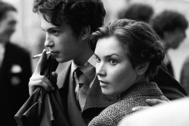 Молодая пара. Москва, 1988 год. Автор: Валерий Христофоров.