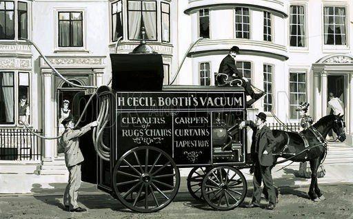 30 августа 1901 года британец Хьюбер Сесил Бут получил патент на электрический пылесос.