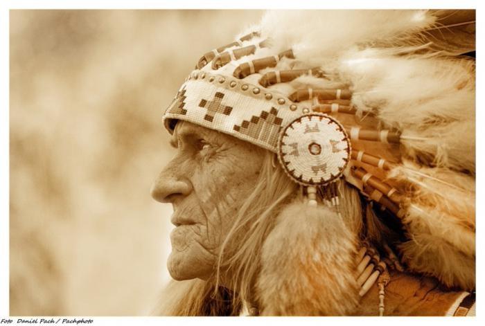 Длинное Перо — польский индеец