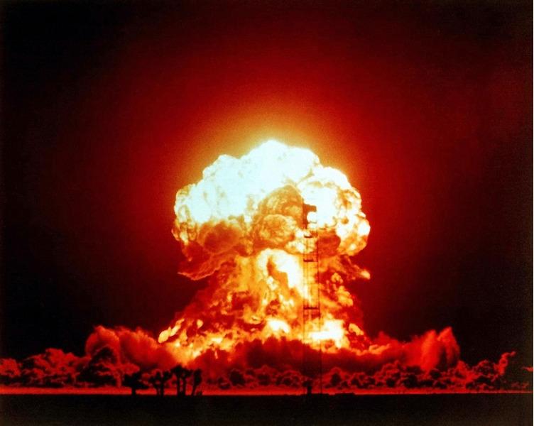 Ядерное испытание Присцилла. Най Каунти, штат Невада, США. 25 июня 1957.