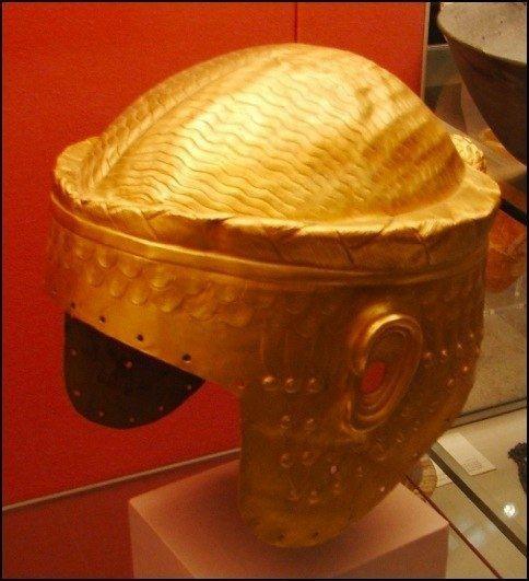 Золотой шлем царя Мескаламдуга