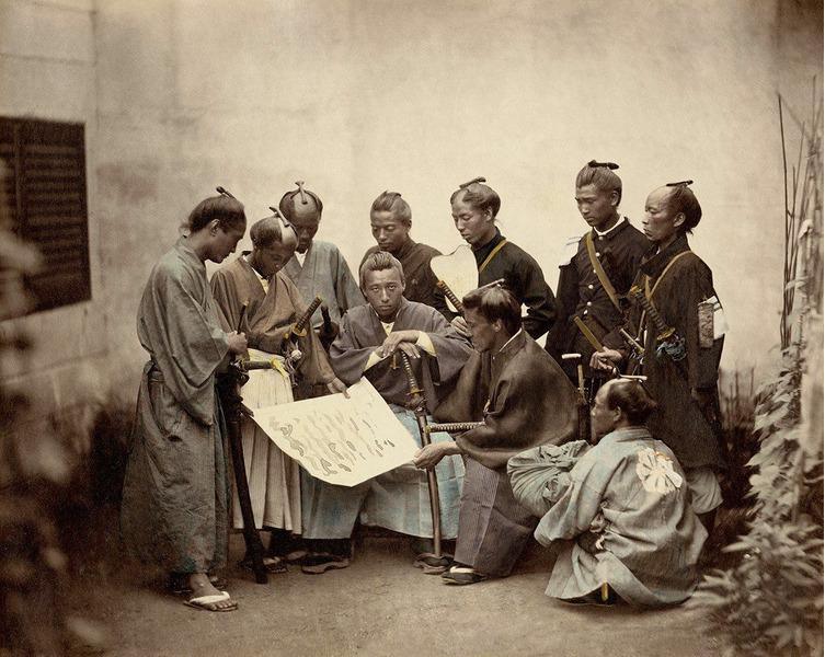 Интересный факт из истории Японии