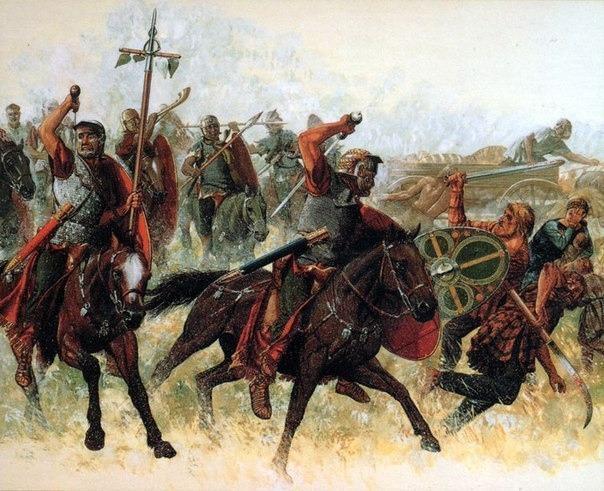 Организация римской конницы