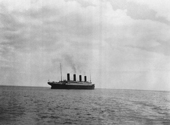 Последний снимок Титаника