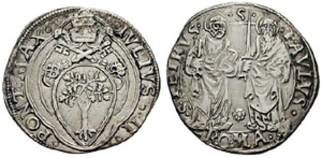 Джулио средневековая монета