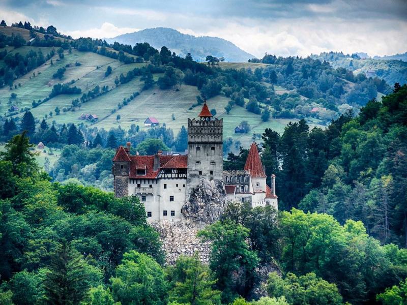 Замок Бран (Castelul Bran)