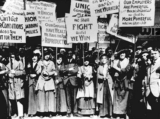 Марш пустых кастрюль, 8 марта 1857 года.