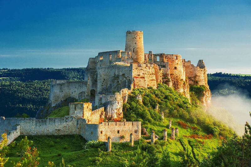 Спишский Град самый большой замок Словакии
