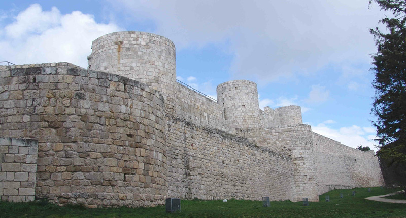 Бургосский замок (Castillo de Burgos) Испания - Бургос