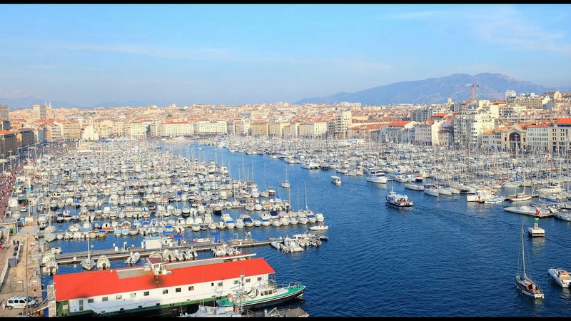 Старый порт Марселя