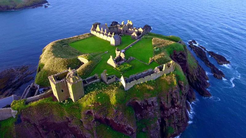 Замок Данноттар (Dunnottar Castle) Шотландия