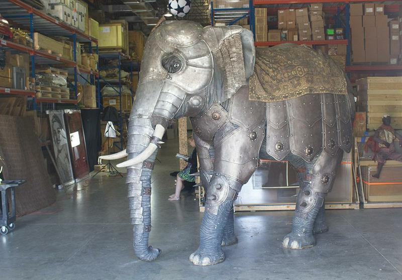 Доспехи боевых слонов