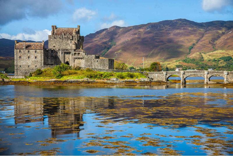 Замок Эйлен-Донан (Eilean Donan - остров Донана)