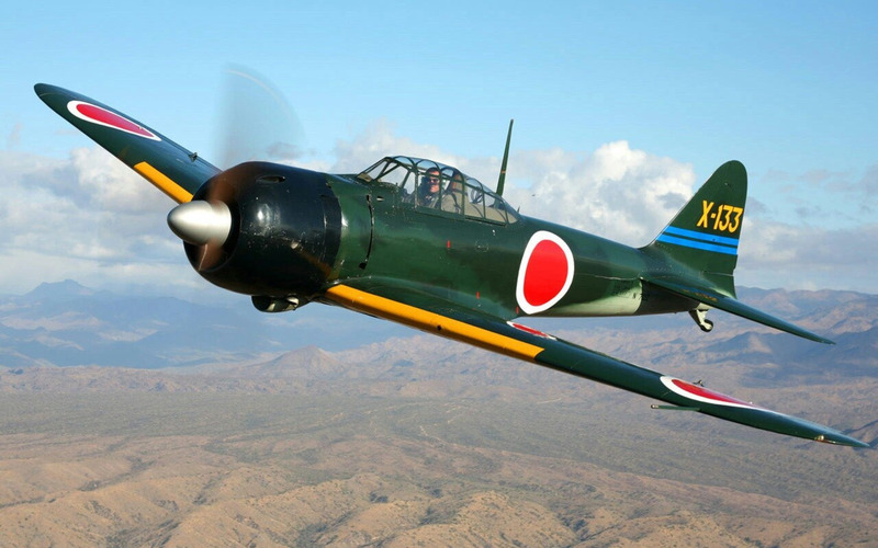 Истребитель Mitsubishi A6M Zero