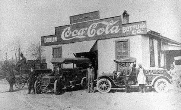 Первый завод Coca-Cola, 1886 год