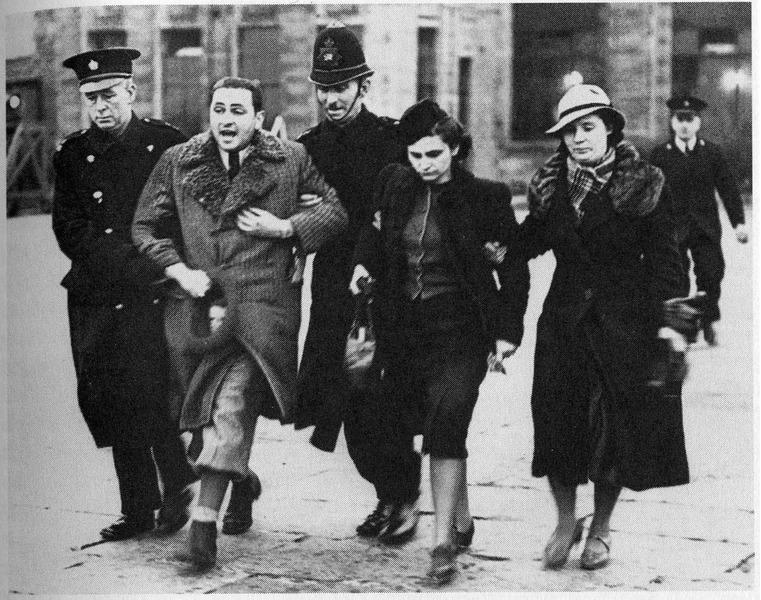 Депортация на смерть Лондон, 31 марта 1939 года.