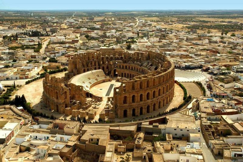 Амфитеатр Гордиана в Эль-Джеме