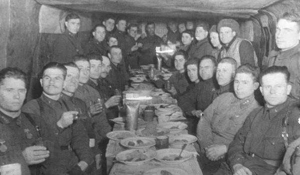 Встреча Нового года в Сталинграде
